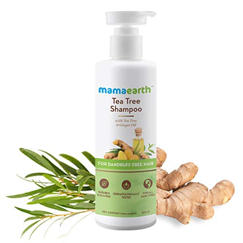 Mamaearth Tea Tree Anti Dandruff Shampoo, With Tea Tree & Ginger Oil,...