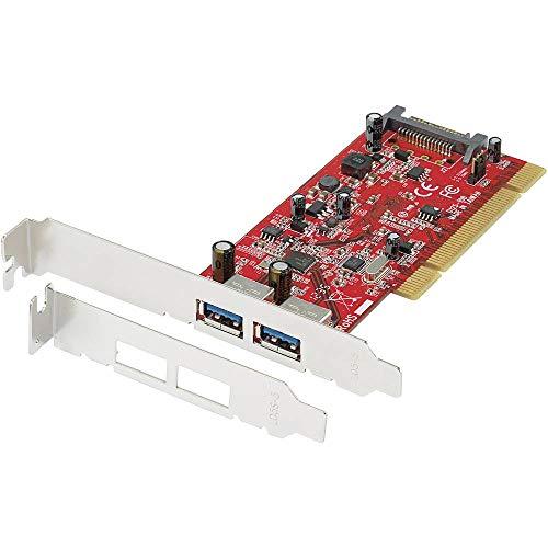 Renkforce 2 Port USB 3.0-Controllerkarte USB-A PCI