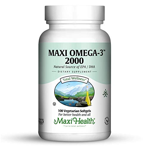Maxi-Health Research Maxi Omega-3 2000 Fishoil (pack of 2)