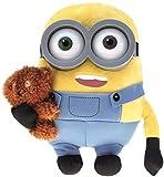 Universal Studios Exclusive - Plush Pillow - Minion Bob with Teddy Bear 11 Inch