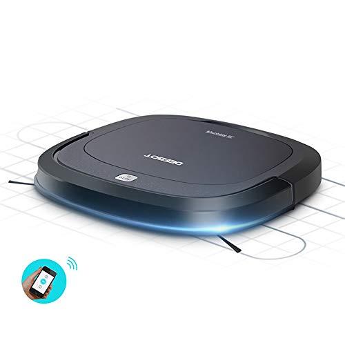 Buy Bargain INSN Super-Thin and Quiet App Control Self-Charging Robotic Vacuum Cleaner with Drop-Sen...
