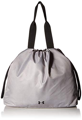 Under Armour UA Cinch Printed Tote Bolsa Deportiva, Mujer, Gris (Mod Gray/Black/Black 011), Talla única