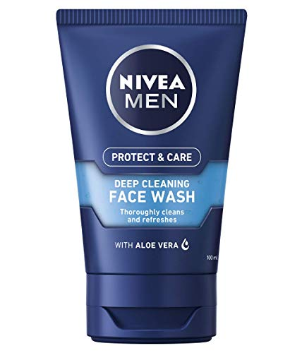 NIVEA MEN Deep Cleaning Face Wash Protect & Care (100 ml)