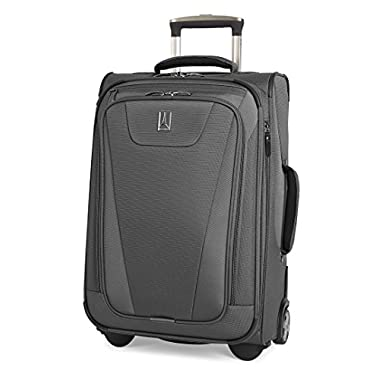 Travelpro Maxlite 4 22  Expandable Rollaboard Suitcase, Grey