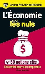 livre 50 notions clés sur l'économie pour les Nuls