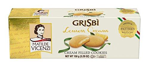 3x Vicenzi Grisbi Limone 150g cookies riegel kuchen Kekse Zitronencreme Zitrone