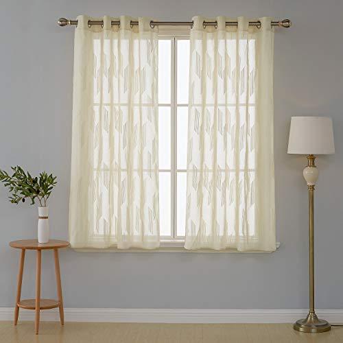 cortinas cocina cortas 2 piezas