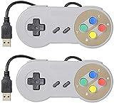ZHITING 2 Pz Controller di gioco, Controller USB retrò SNES, Joystick Gamepad classico, Gamestick...