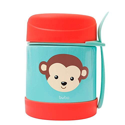 Pote Termico Animal Fun - Macaco, BUBA, Colorido