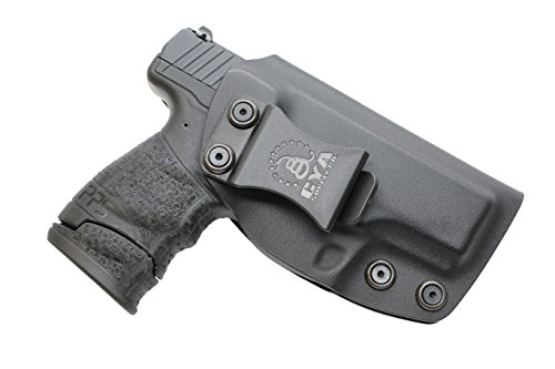 CYA Supply Co. Fits Walther PPS M2 Inside Waistband Holster Concealed Carry IWB Veteran Owned Company (Black, 083- Walther PPS M2)