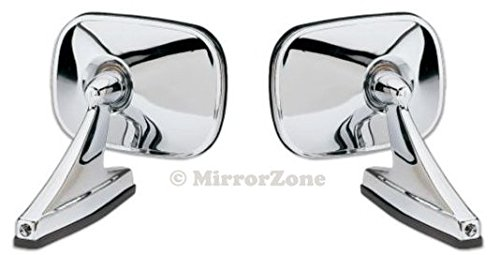 Vintage Style Rectangle Chrome Mirrors F Buy Online In Gambia At Desertcart
