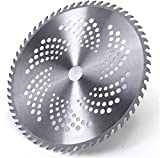 LXNQG 60 Dientes Cepillo Cutter Blade Trimmer Cuchillas de Metal Profesional Acero Cortar Disc para Rueda Rueda Trimador Cutter Jardín Herramientas Bonsai (Color: 40T) (Color : 60t)