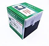 Elfcam® - Caja con Toallitas para Limpieza de Fibras Ópticas, Limpiador CleanWipes 280, Limpiador de Conector Óptico Blanco Para Conectores FC / SC / LC / MU / D4 / DIN