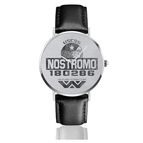 Reloj de Pulsera Unisex, Estilo Informal USCSS Nostromo Weyland Yutani Corp Alien,...