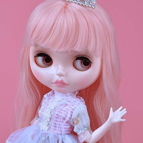 YUMMON el de 12 Pulgadas muñeca Desnuda es Similar a la muñeca del bjd Blyth, muñecos Personalizados se Pueden Cambiar Maquillaje y Vestido de muñecas DIY YM10