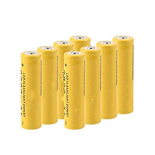 NHFGJ 8/16 Uds 3,7 v GIF 18650 Batería De Litio De Iones De Litio De Alta Capacidad 9800 Mah para Puntero LáSer De Cigarrillo ElectróNico 8Pcs