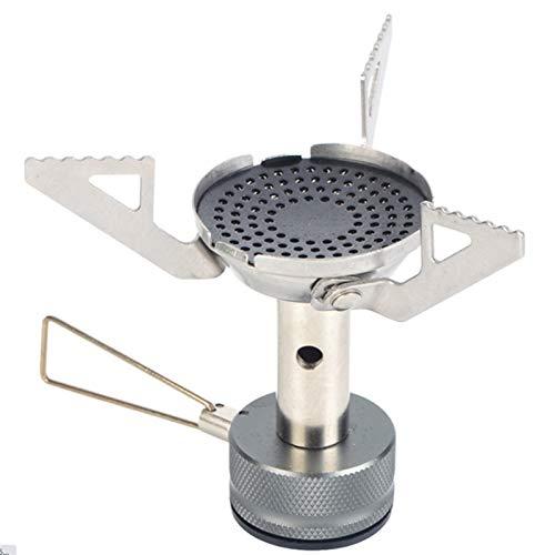 SZTUCCE Outdoor Ultraligero Mini Integrado Camping Camping Estufa Estufa de Gas Picnic Plegable Pequeño Camping Cocinar Cocina Triángulo Estufa de Gas (Color : 1PCS)