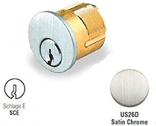 GMS M118 Replacement Mortise Cylinder for Schlage E Locks