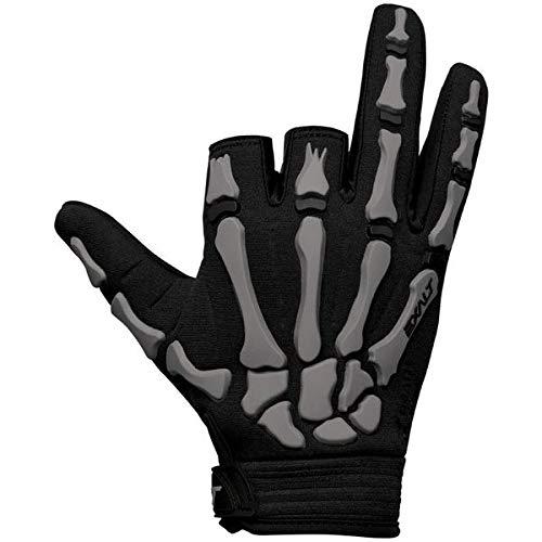 Exalt Paintball Handschuhe Death Grip Gloves grau, Größe:XL