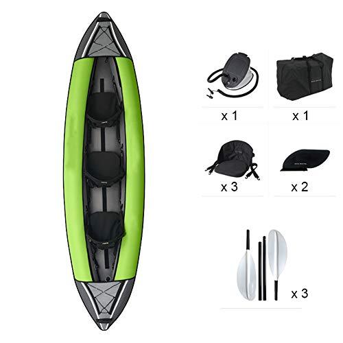 YZT QUEEN Kayak, Kayak per Canoa Gonfiabile per Il Tempo Libero per 3 Persona, Kayak per...