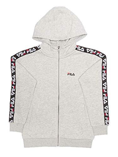 Fila Sweatshirt 688093-G06-FULL-KID Baumwolle Garzato, Grau 16 Jahre/Höhe 170 cm