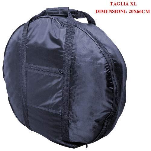 Compatibel met Toyota reservewiel met ritssluiting en handgrepen maat XL 20 x 66 cm veiligheidswiel voor garage waterdicht