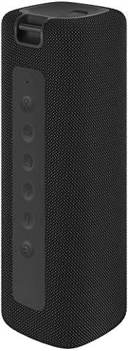 Xiaomi Mi tragbarer, kabelloser Bluetooth-Lautsprecher mit 2 x 8 W HD-Sound und Bass, wasserdichter TWS-Lautsprecher, 2600 mAh, Lithium-Akku, 13 Stunden lange Spielzeit, Schwarz