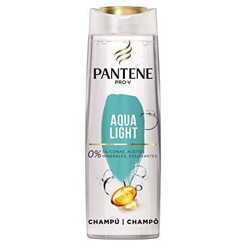 10. Pantene Pro-V Aqua Light Champú, Nutrición sin Apelmazamiento, 360 ml