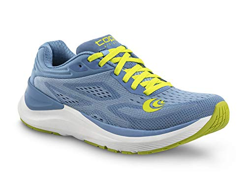 Topo Athletic Women's Ultrafly 3 Breathable Road Running Shoes, Periwinkle/Lime, Size: 6.5 (W038-065-PWKLIM)