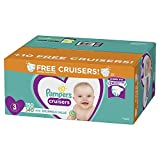 Diapers Size 3, 150 Count - Pampers Cruisers Disposable Baby Diapers, Enormous Pack, Plus Bonus Diapers