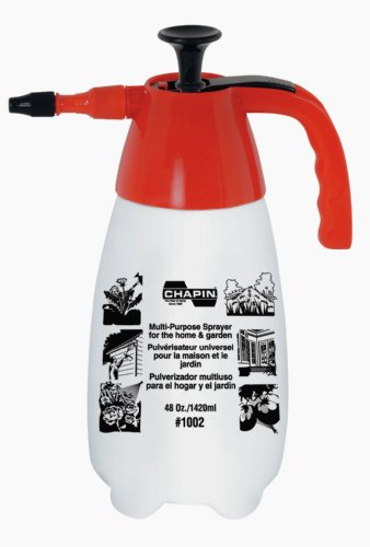 Chapin International 1002 48-Oz Multi-Purpose Sprayer, Red/White, Fine...