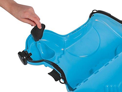 BIG 800055352 – Bobby-Trolley, Kinderkoffer, Kindergepäck, blau - 5