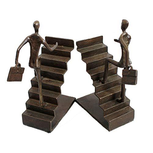 Metall Buchstütze Treppe