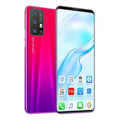 SIM Kostenlose Handys, Dual SIM Telefon Entsperrt, Android 10.0 Smartphone, 4G + 64 G, Gesichtserkennung, Fingerabdruck