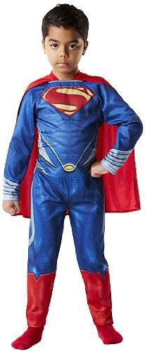 Rubie's-déguisement officiel - Superman - Costume Classique Man of Steel Flat - Taille L- I-886504L