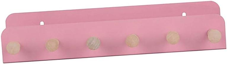 perfk Wandgemonteerde ijzeren wandplank, home display standaard, roze