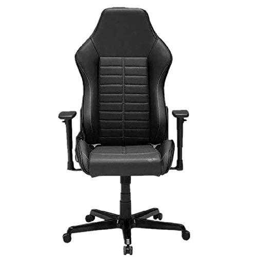 HDZWW Sedie Gaming Videogiochi Sedie Gaming Comoda Sedia casa sdraiato Gaming Computer Office Chair Confortevole Sedia Travel Office Chair (Colore: Nero