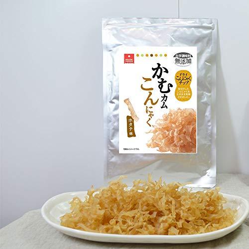 アスザックフーズ お徳用大袋 かむカムこんにゃく ホタテ味 100g [26445]