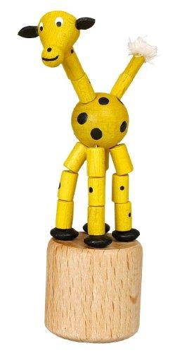 Drücktier für Kinder - Spielzeug Wackelfigur