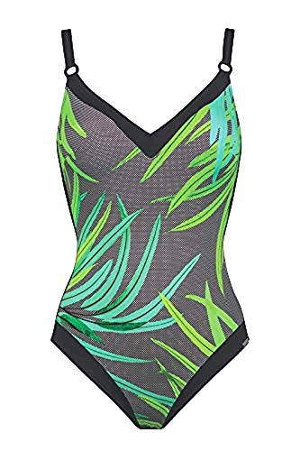 Charmline Damen Badeanzug Green Vibe Style 1862 (Bamboo-freen, 42 - C Cup)