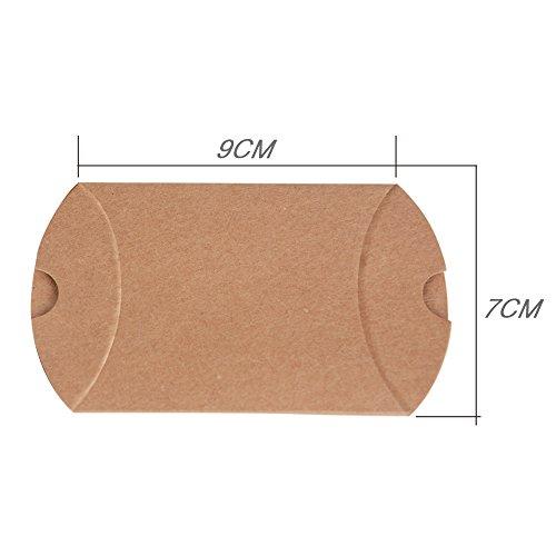 Geschenkboxen aus Kraftpapier |100 Stück - 4
