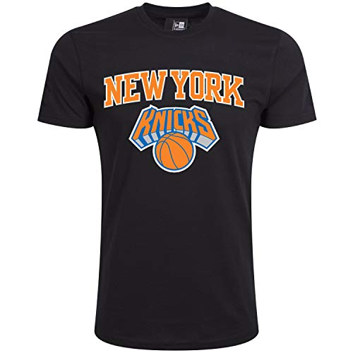 New Era Team Logo Neykni Camiseta, Unisex Adulto, Negro (Blk