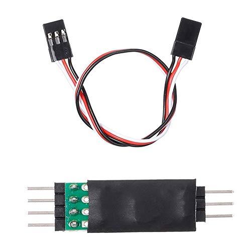 V-MAXZONE Panel de control de luz LED duradero para lámpara Traxxas Hsp Redcat Rc4Wd Tamiya Axial Scx10 D90 RC Coche Vehículo Coche Accesorios (Color predeterminado)