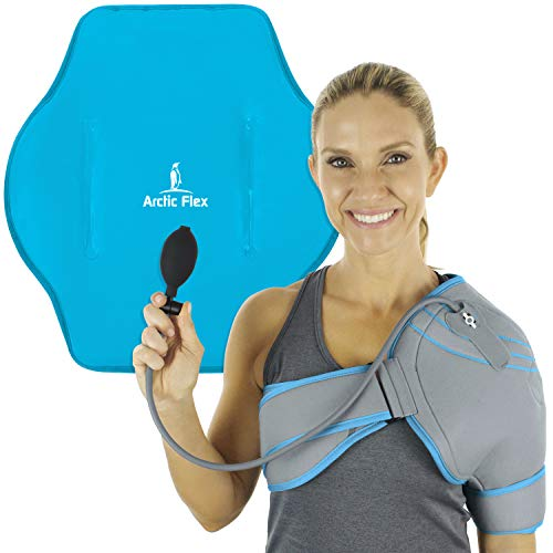Arctic Flex Cold Shoulder Brace - Ice Pack for Rotator Cuff Support, Tendinitis, Dislocated Joint, L - http://medicalbooks.filipinodoctors.org