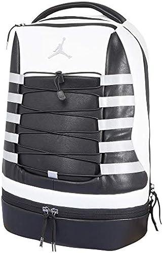 Nike Air Jordan Retro 10 Backpack (One Größe, Weiß Blau)