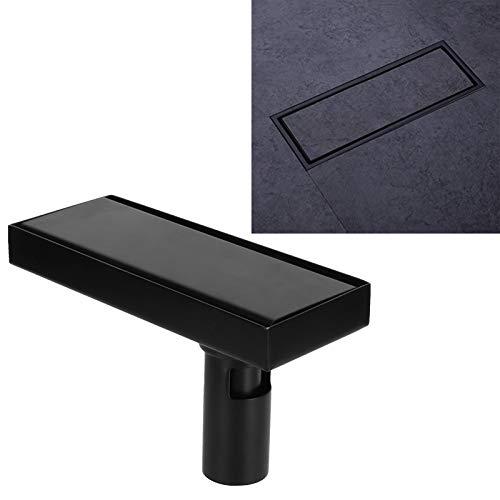 Desagüe para piso de ducha, escurridor de piso de acero inoxidable extraíble de 20 cm