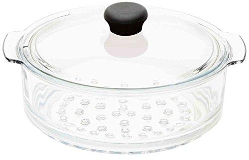 Cristel CWTECVV20 Cuit-Vapeur Verre Cocinelle 20cm, Transparent