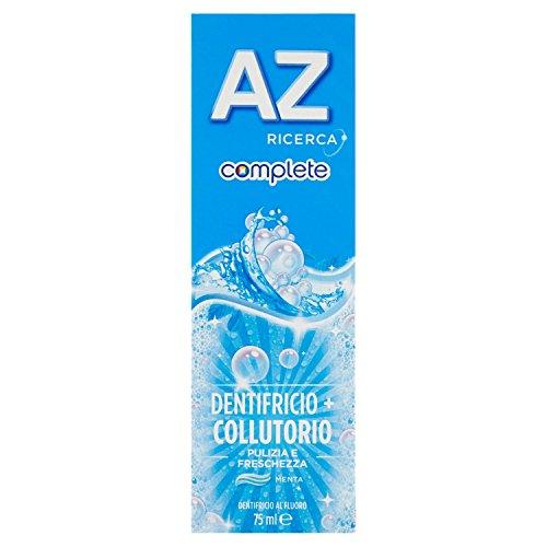 AZ - Dentifricio 2 in 1 con collutorio, per la protezione di tutta la bocca, extra fresh - 75 ml