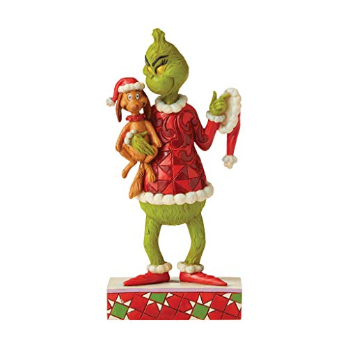 The Grinch By Jim Shore Grinch and Max Figurine