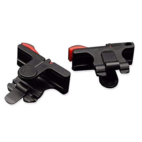 WTBH Contrôleur PS3 Portable for PUBG contrôleur de Jeu Gamepad téléphone Portable L1 R1 Bouton Trigger Cible Bouton Gamepad Manette de Jeu Caractère 5 (Color : Black)